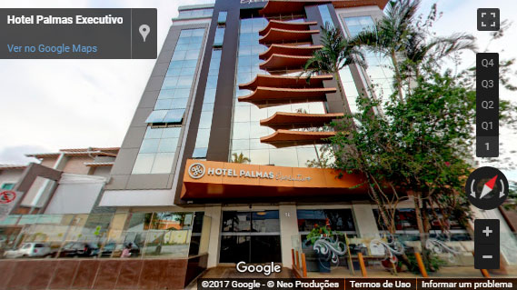 Tour Virtual Hotel Palmas Executivo